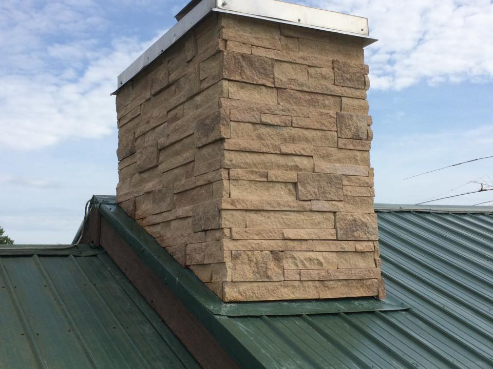 Upgrade Of A Chimney Schwartz And Sons Construction